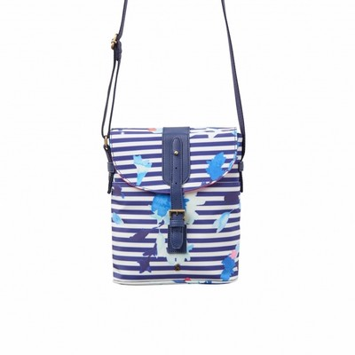 Joules TOURER Printed Canvas Body Bag MFLOSTP