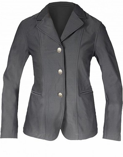 Horze Wiona Grey Fitted Show Jacket