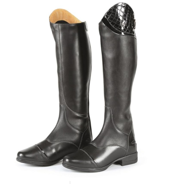 Moretta Marissa Long Leather Riding Boots